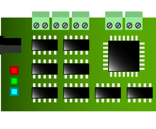 embedded systems - pcb board example thumb