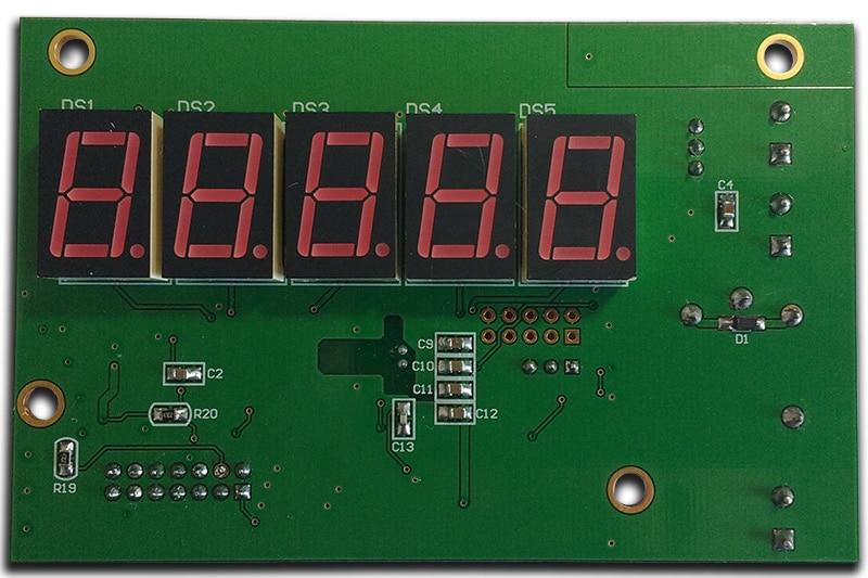 placa pcb ensamblada de una Controladora de purificación de aire diseñado a la medida