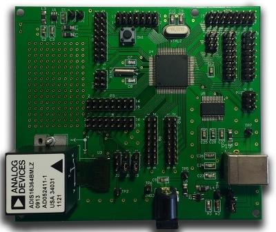 placa pcb de desarrollo de sistema de navegación inercial diseñada a la medida en cohen electronics consulting