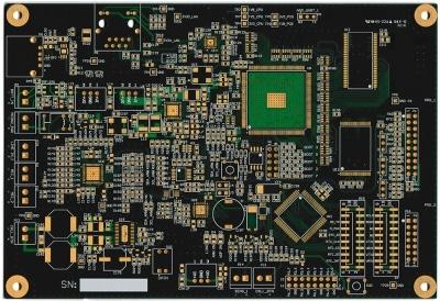 placa pcb de un diseño voip personalizado (hecho a la medida) en cohen electronics consulting