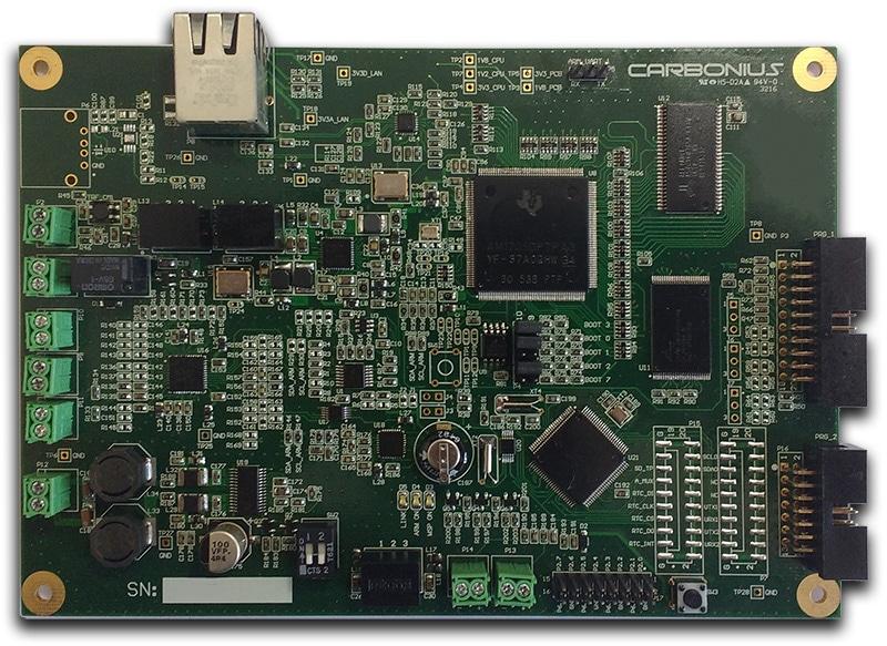 voip pcb de un diseño personalizado ensamblada en cohen electronics consulting