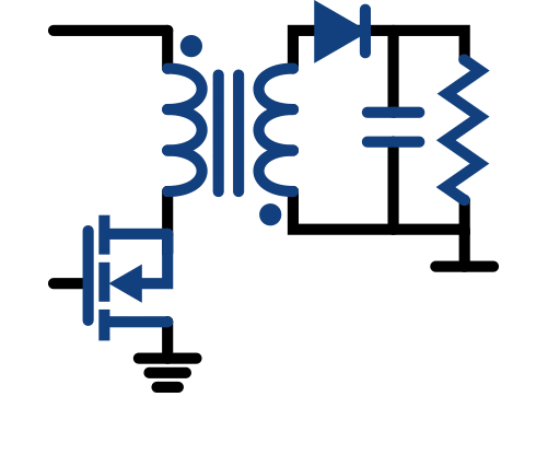 power electronics and switch mode circuits - flyback topology smps power supply thumb